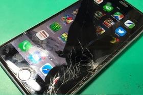【iPhone6S】液晶画面復活劇!の施工前画像