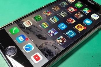 【iPhone6S】液晶画面復活劇!の施工後画像