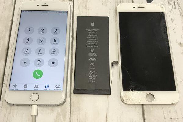 【iPhone6】画面もバッテリーも一緒にフレッシュ!