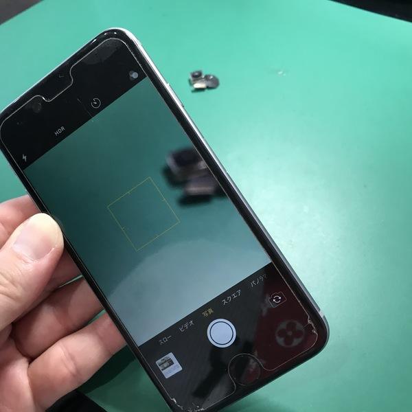 iPhone6:カメラ修理|宮崎市富吉からピンボケカメラ修理依頼