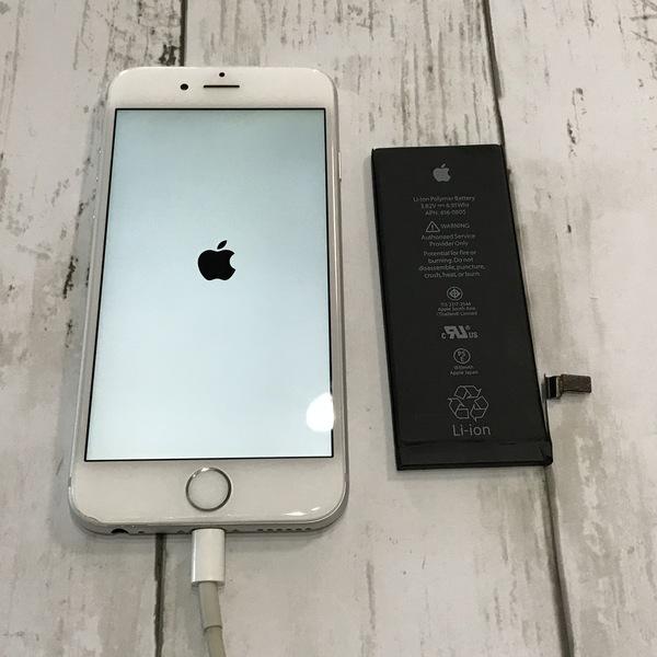 iPhone6:バッテリー交換修理|アイフォンのメンテナンスは当店まで!